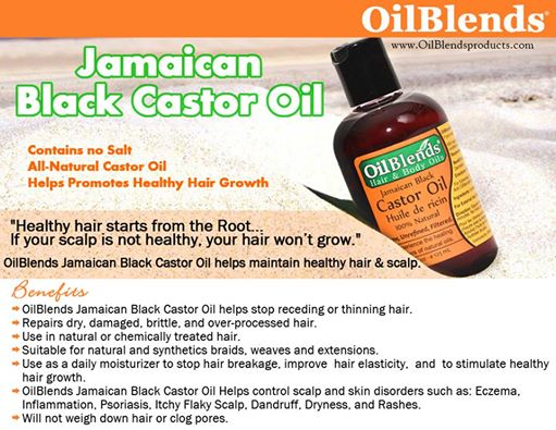 OilBlends® Black Jamaican Castor Oil
