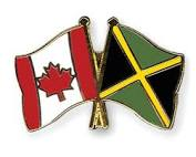 Jamaican and Canadian flag